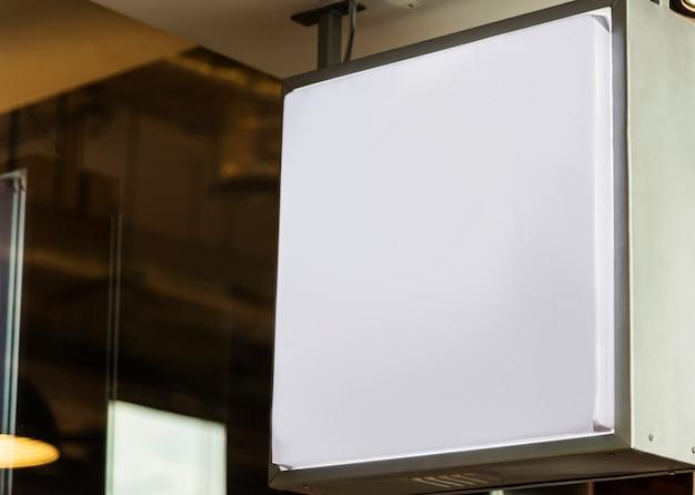 blank bill board mockup psd file free download