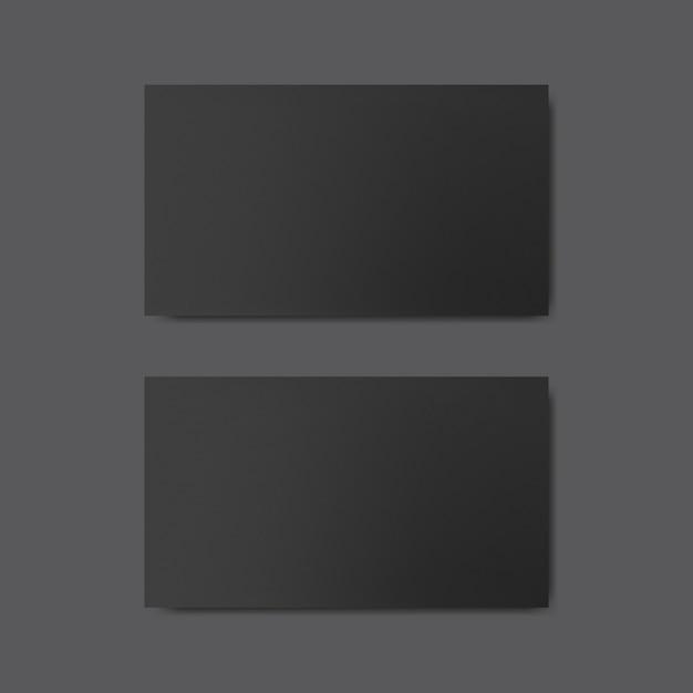 blank business card design mockup vector psd file