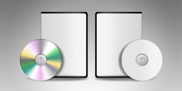 Blank dvd cd template PSD file | Free Download