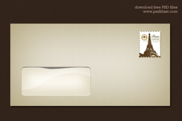 blank envelope template psd psd file free download