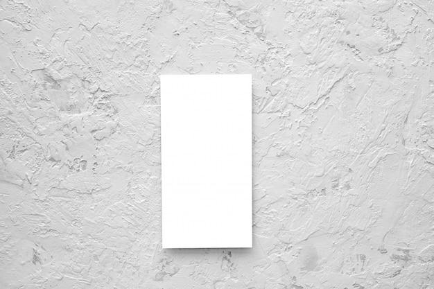 Пустой флаер. пустая карточка Premium Psd