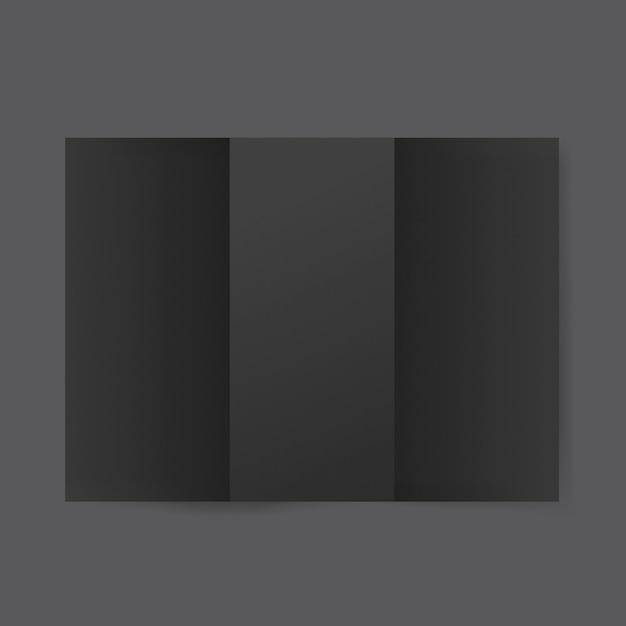 空のパンフレットテンプレートの模擬 無料 Psd