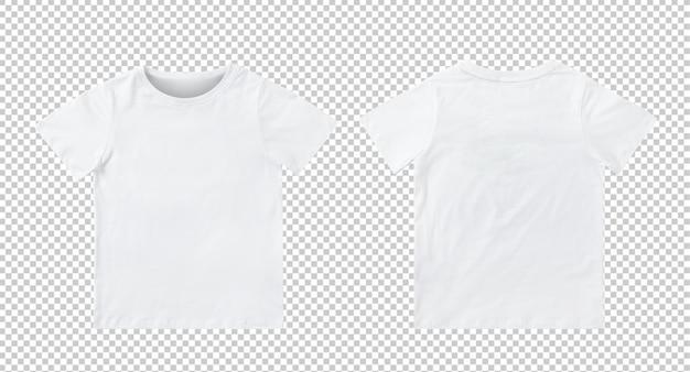 Blank White Kids T Shirt Mockup Premium Psd File