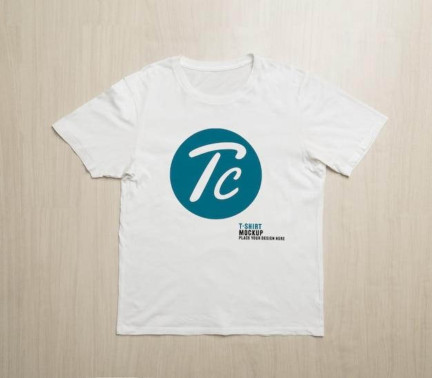 Mockup áo phông trắng trống cho thiết kế của bạn Psd cao cấp