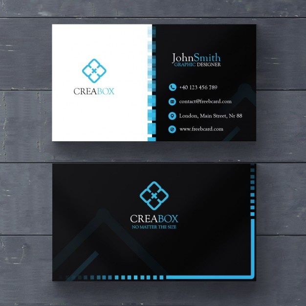 Blue and black geometric card psd file free download blue and black geometric card free psd reheart