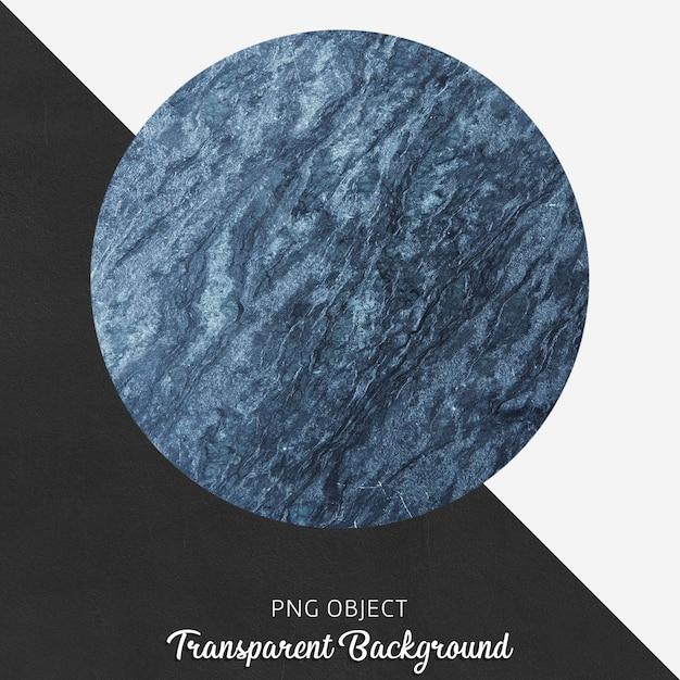 투명 한 배경에 파란색 대리석 무늬 서빙 플레이트 프리미엄 PSD 파일