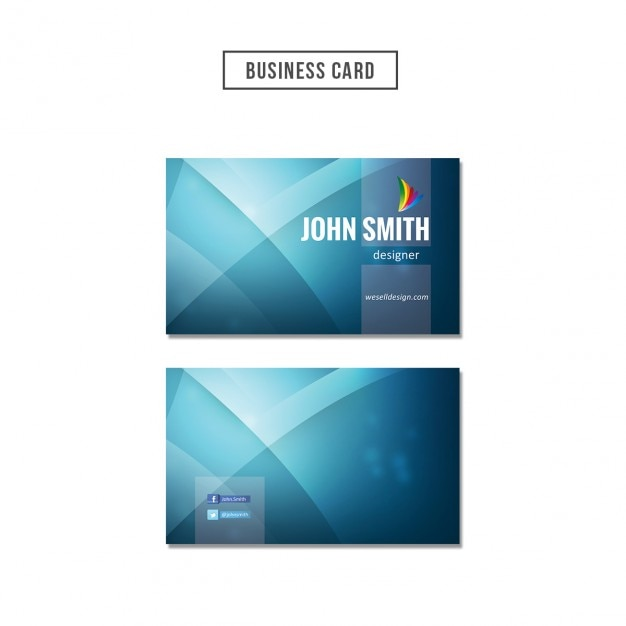 Blue wavy business card psd file free download blue wavy business card free psd colourmoves