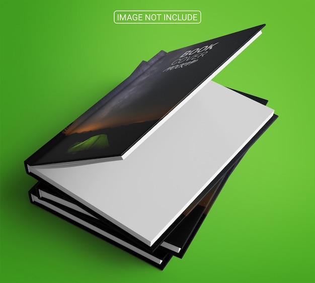 本と雑誌の表紙のモックアップ Premium Psd