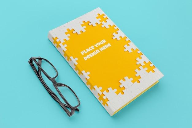책 표지 모형 구성 무료 PSD 파일