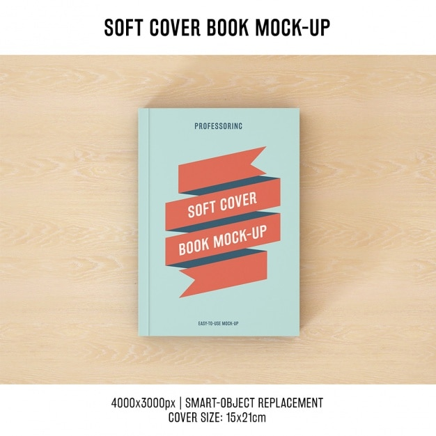 Book Cover Design Sites : Book cover mock up design psd file free download