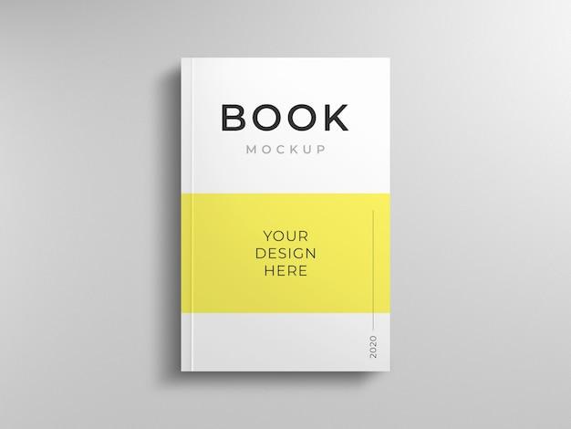 Шаблон макета обложки книги Premium Psd