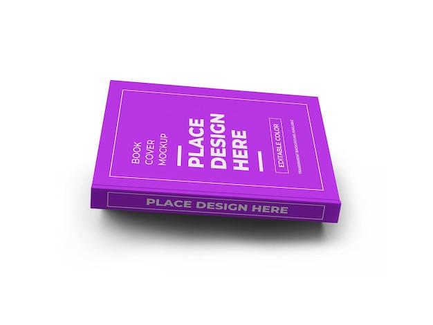 ブックカバーのモックアップ Premium Psd