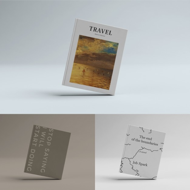 Book Cover Template Psd Free : Book cover template psd file free download