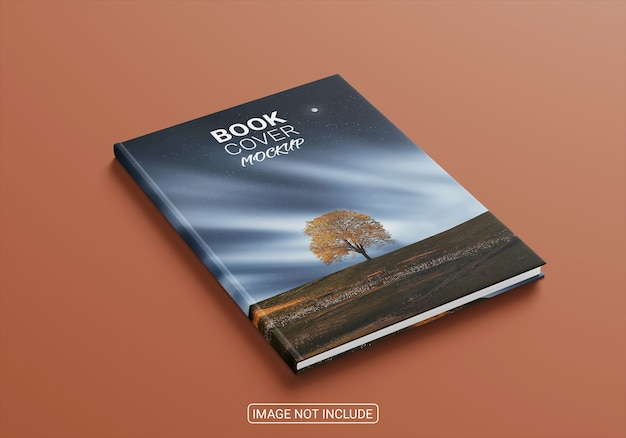 Book and magazine cover mockup isolated Premium Psd