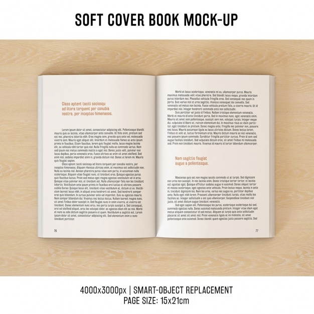 Book Page Psd