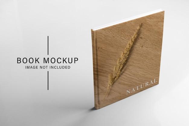 Book standing mockup Premium Psd