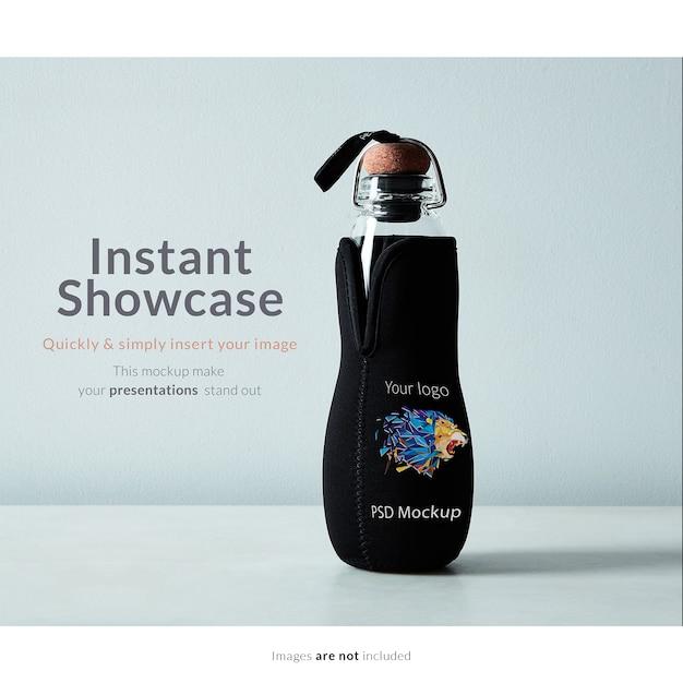 Bottle mock up Free Psd