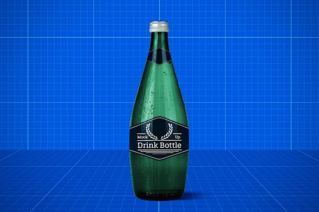 Bottle mockup Premium Psd