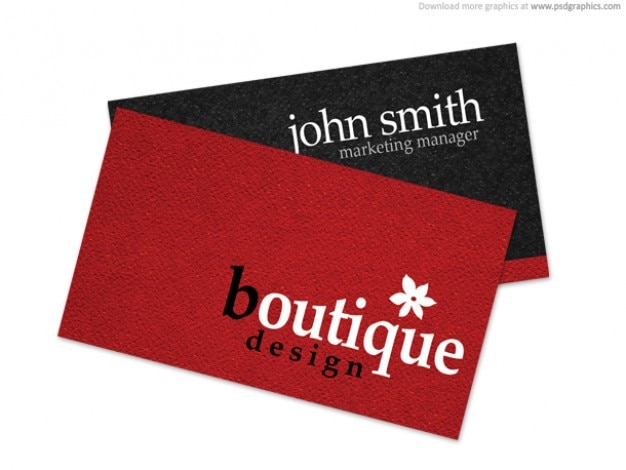 Boutique Business Card Psd File Free Download
