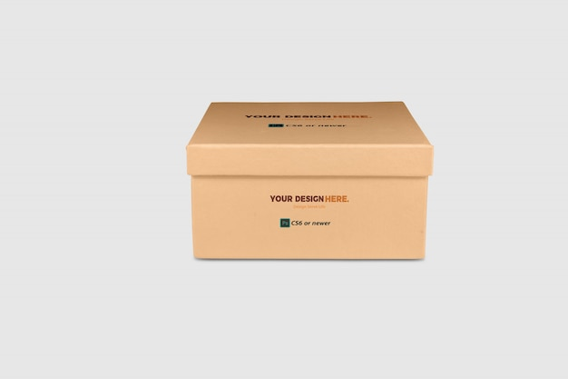 Box package mock up Premium Psd