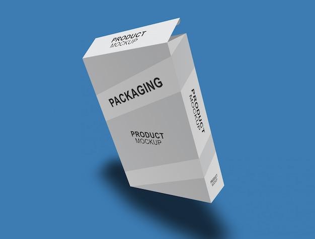 Box packaging mock-up Premium Psd