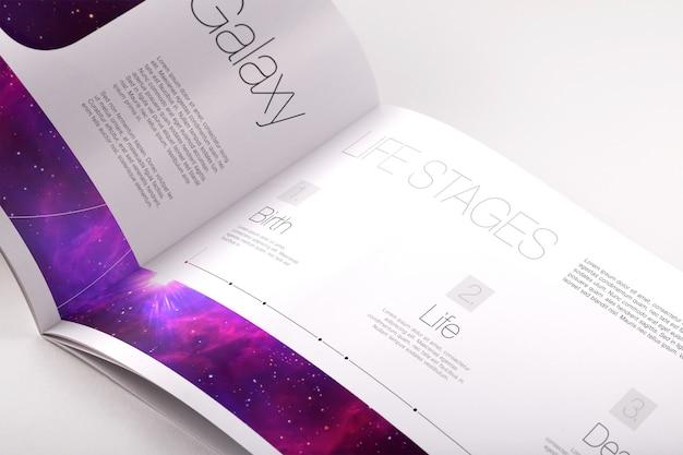 Brochure mock up design Premium Psd