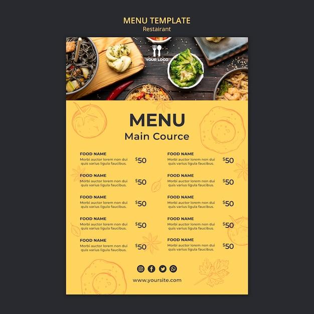 Brunch Menu Template from image.freepik.com