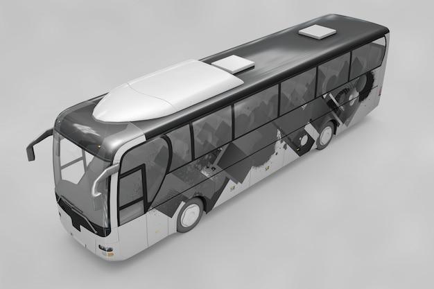 Bus mockup Free Psd