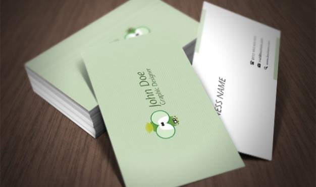 Business card 2 Free Psd