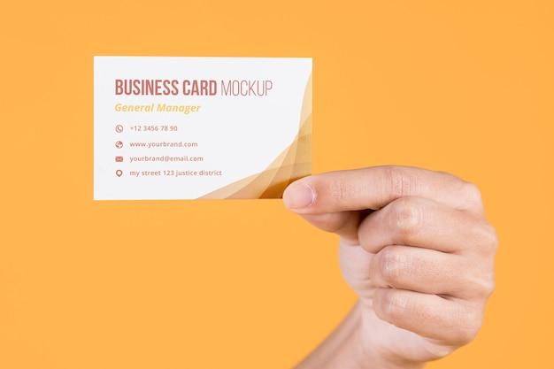 Макет концепции визитной карточки Бесплатные Psd