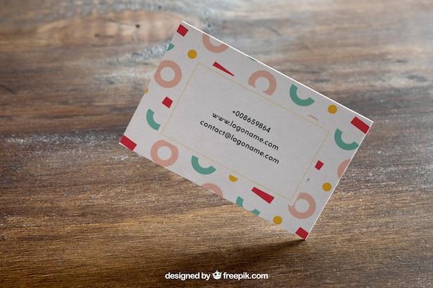 Business card mockup concept Premium Psd