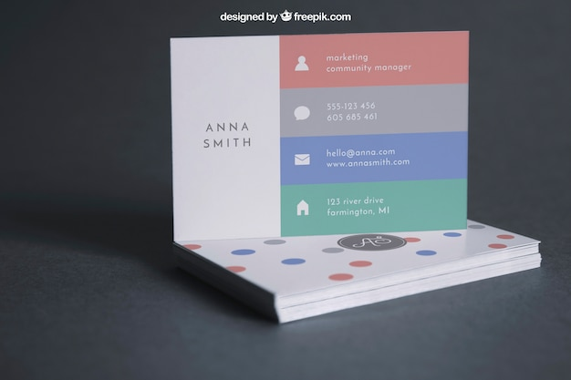 Business card mockup on stack psd file free download business card mockup on stack free psd reheart Choice Image