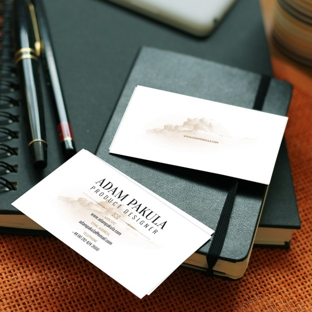 Business Card Mockup PSD File