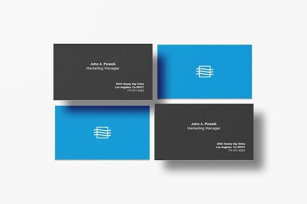 명함 모형 프리미엄 PSD 파일