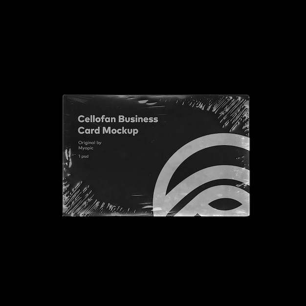 Визитная карточка макет Premium Psd