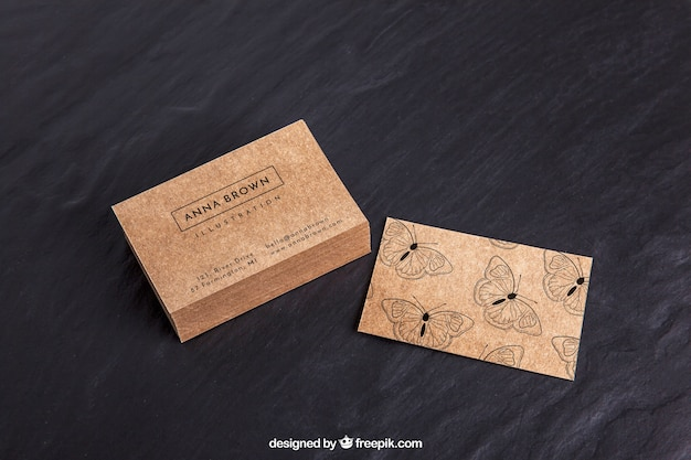 Business card mockup psd file free download business card mockup free psd reheart Image collections