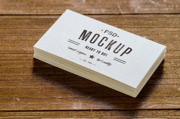 Business card mockup Premium Psd