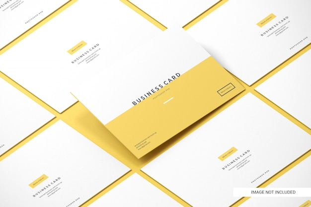 Business card mockups Premium Psd