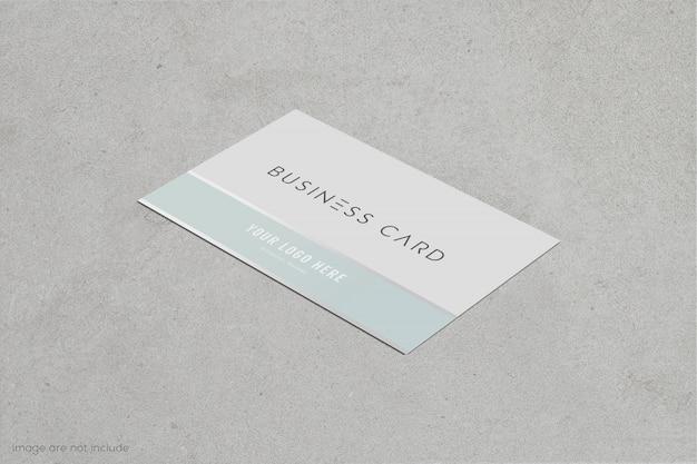 business card and name card mockup  premium psd file