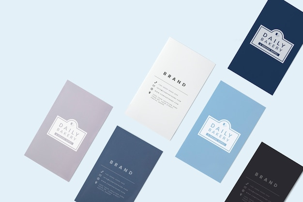Business card and name card mockup Free Psd