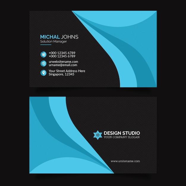 Business card premium psd Premium Psd