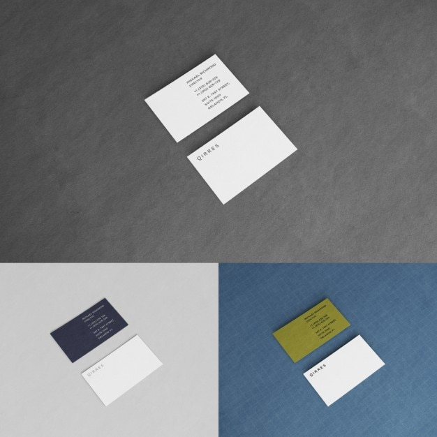 business card presentation template psd - business card presentation mock up psd file free download