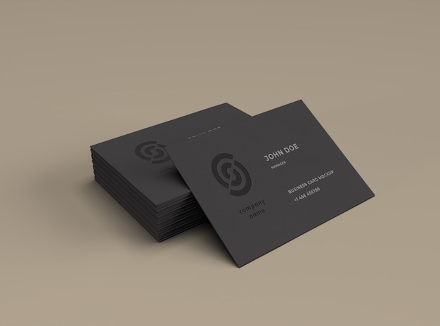 Business cards mockup Premium Psd