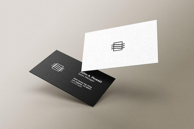 Business cards mockup Premium Psd