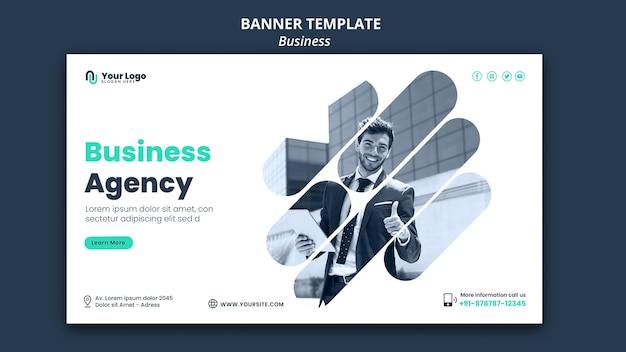 Modello di banner di concetto di affari Psd Gratuite