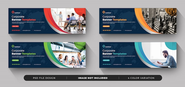 Business corporate banner Premium Psd