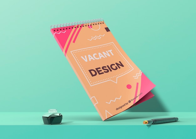 Business corporate identity template for poster Free Psd