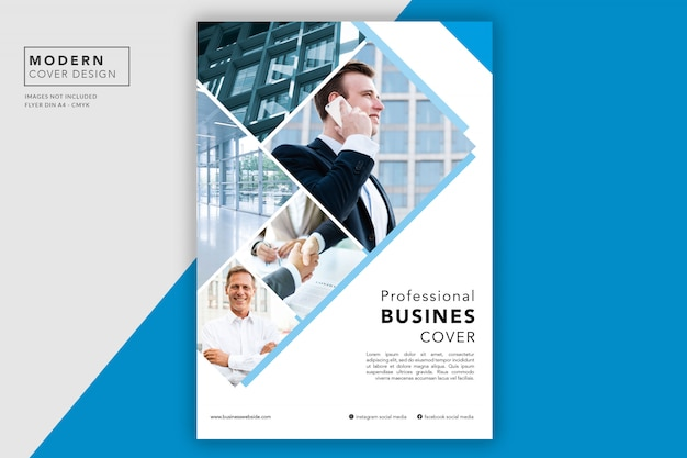 Business cover or flyer Free Psd