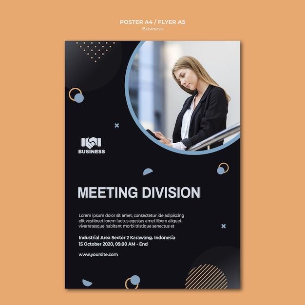 비즈니스 이벤트 전단지 서식 파일 무료 PSD 파일