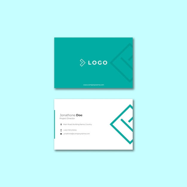 Business event with business card template Free Psd